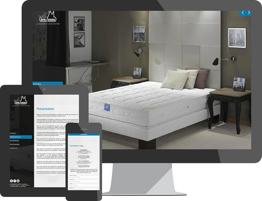cr ation de sites web professionnels abidjan cr ation site internet pour entreprises et. Black Bedroom Furniture Sets. Home Design Ideas